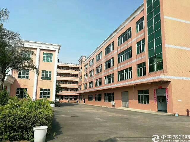 清溪镇中心大马路边红本厂房9800平米急售
