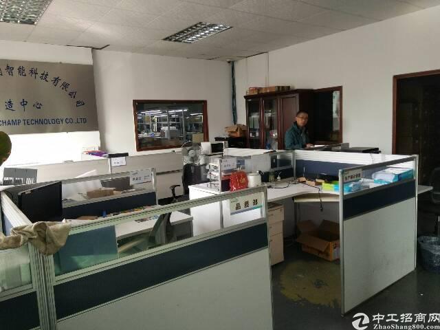 福永镇白石厦龙王庙工业区三楼950平厂房招租-图2