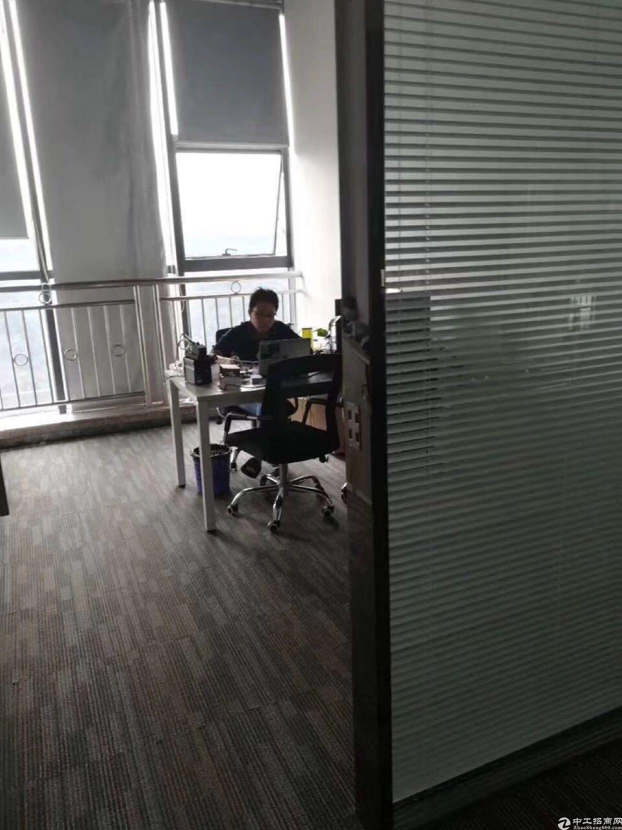龙华民治地铁站900平精装修写字楼出租,拎包进驻