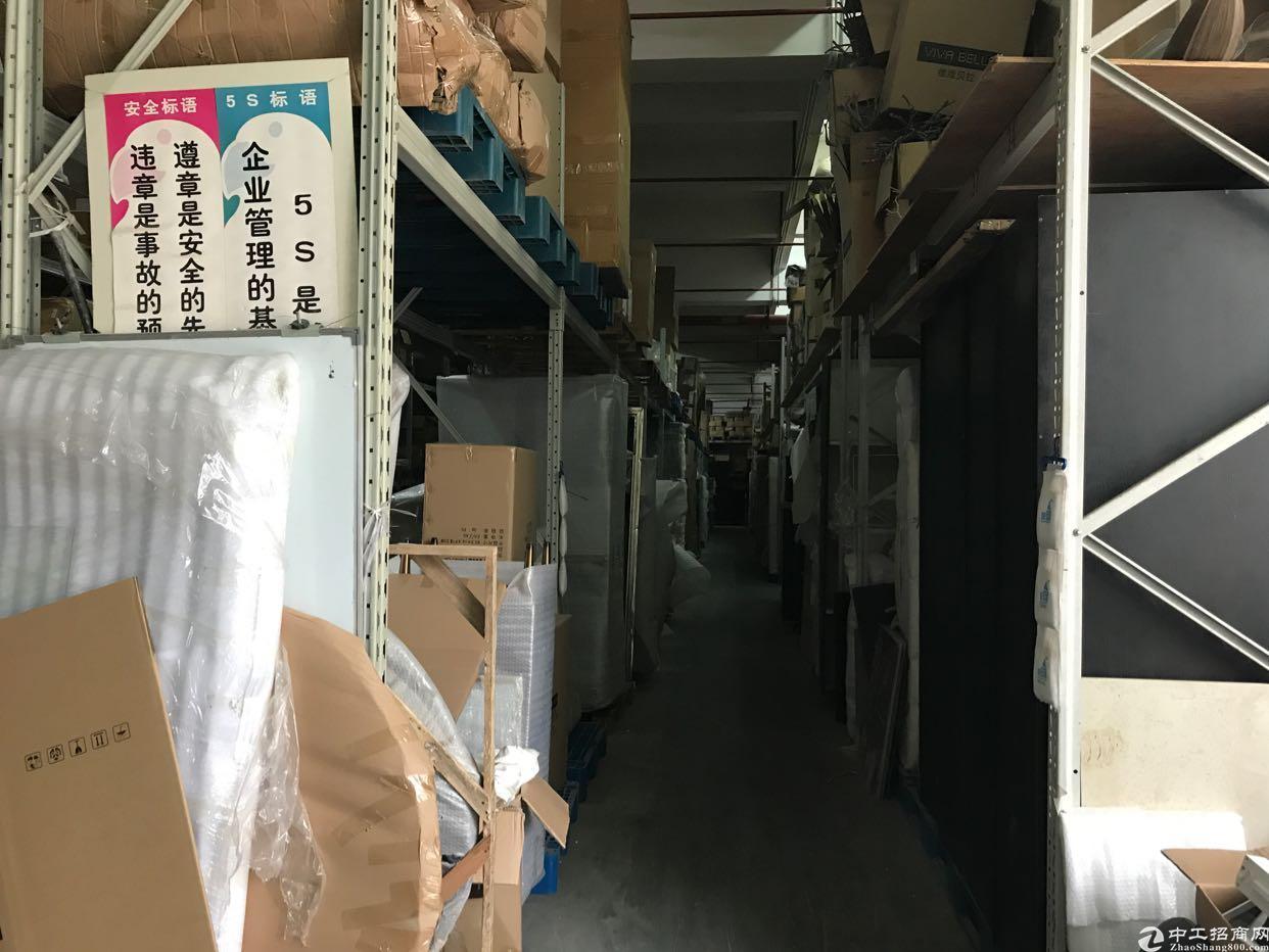 横岗永湖地铁站一楼花园式2200平精装厂房出租-图5