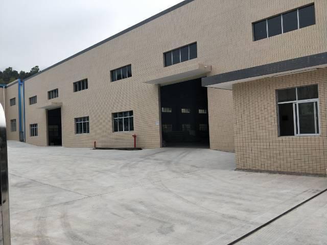 企石镇独门独院单一层滴水10米钢构厂房出租