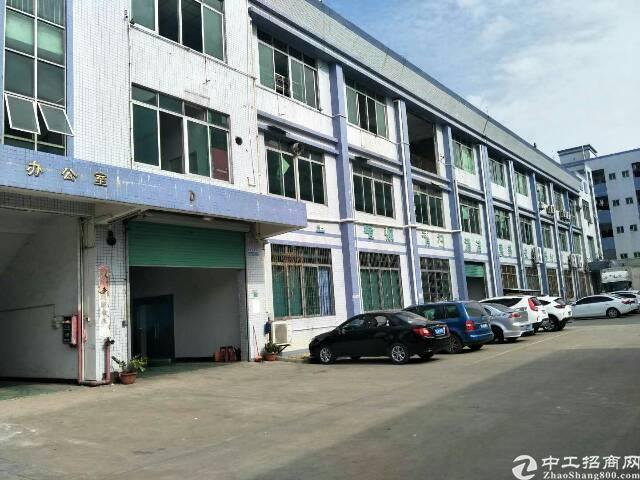 横沥镇新出独门独院标准厂房出租3800平方