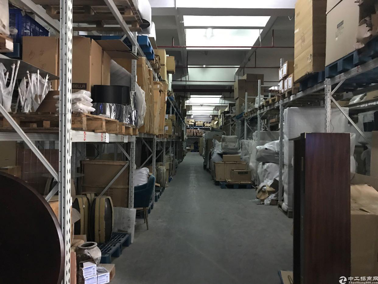 横岗永湖地铁站一楼花园式2200平精装厂房出租-图3
