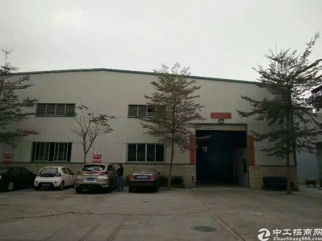 东莞塘厦靠近科苑城9米高钢构2500平方招租