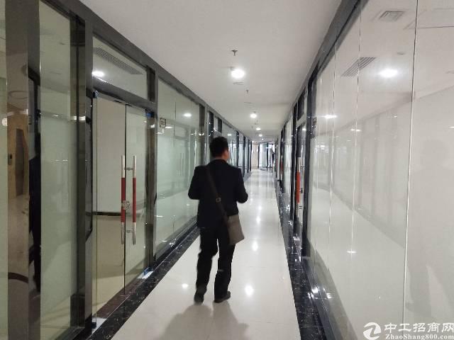 沙井 地铁口 精装修 写字楼 出租,50-800平,大小分租