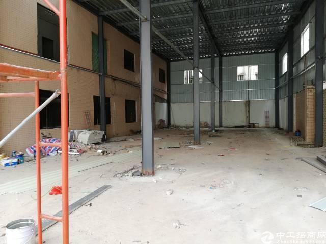黄江镇板湖村附近新出独门独院钢结构厂房3250平方出租
