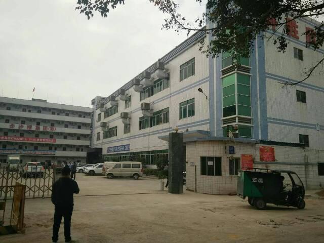 公明镇中心一楼二楼共3680平方带装修厂房出租-图2