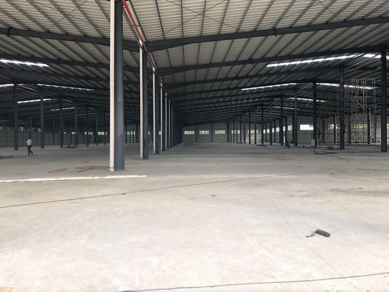 大岭山镇大塘村107国道边新出全新钢构15000平方厂房出租-图3