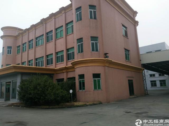 公明长圳新出独门独院三层6000平带装修花园式厂房招租