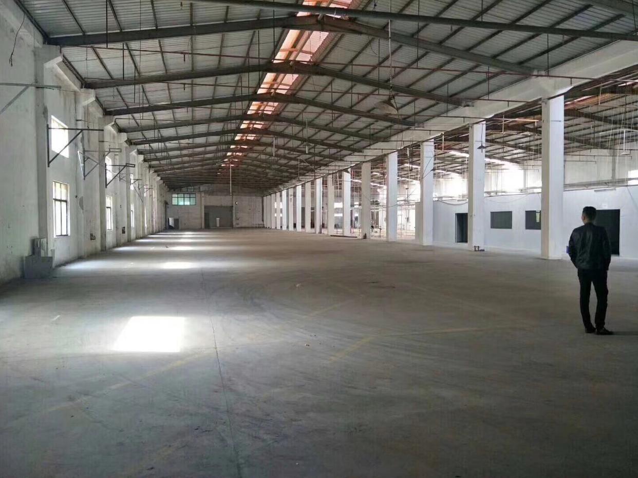 黄江镇新出独栋单一层厂房现房6000平米