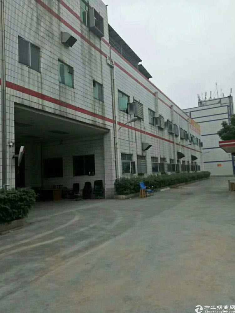 福永靠近沙井107边上发源是独院厂房12,000平方招租