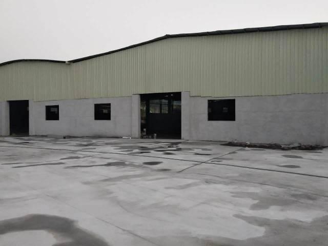 高速路口处全新独院钢构厂房出租,滴水8米-图2