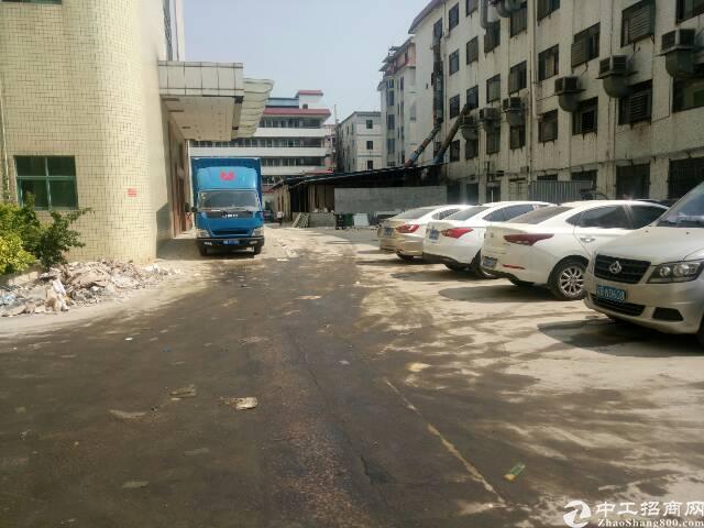 黄江镇中心工业园一楼厂房出租!