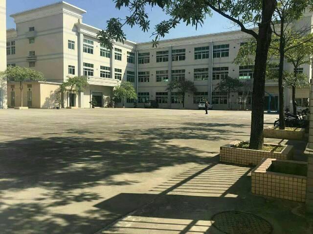 石排新出9成新独门独院标准厂房1-3楼,共13000平米