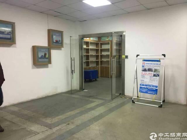 东莞塘厦二楼带办公室精装地坪漆消防喷淋2000平厂房出租