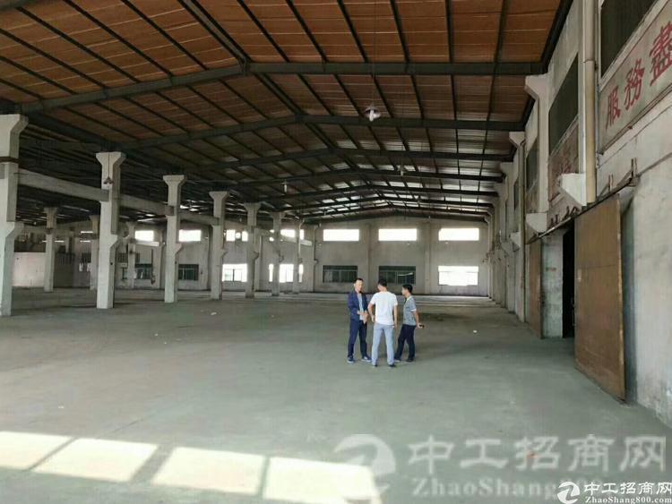 松岗高速出口独门独院滴水8米钢结构厂房4900平米招租-图3