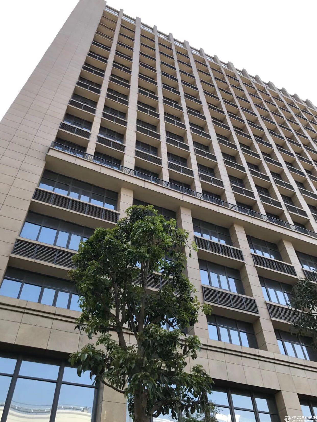 深圳市宝安地铁口开发商直租2万平米红本写字楼