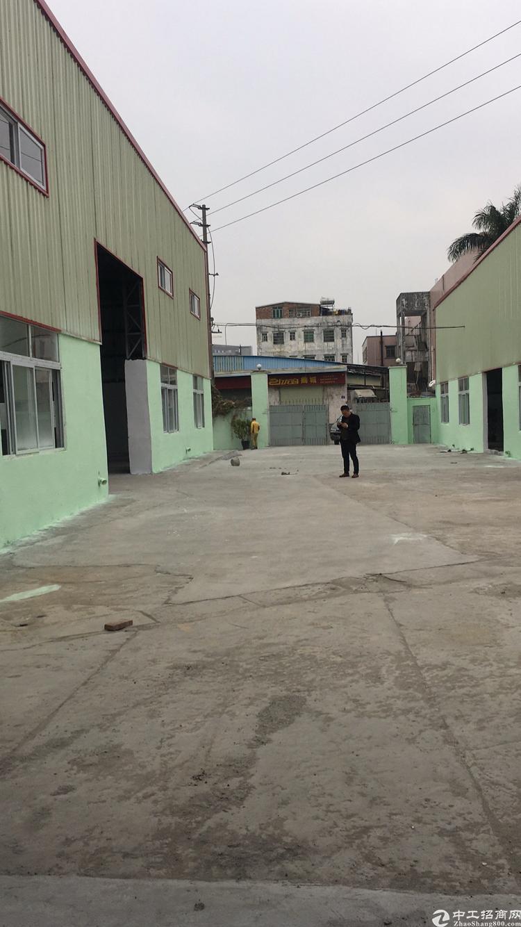 寮步镇石龙坑附近独门独院铁皮厂房4000平方出租