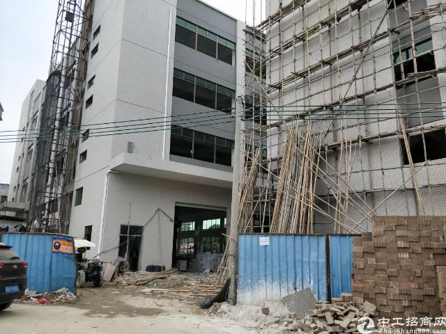 企石镇独院全新标准厂房1-4层4500平方一楼6.5米带牛角