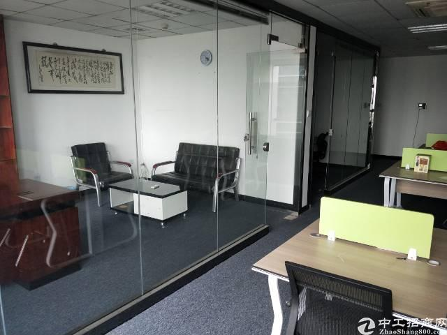 清湖地铁站,精装修写字楼140平招租