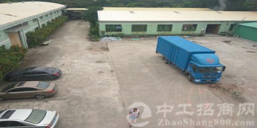 惠州龙溪占地 30 亩建筑 11500 平米单一层国有证厂房