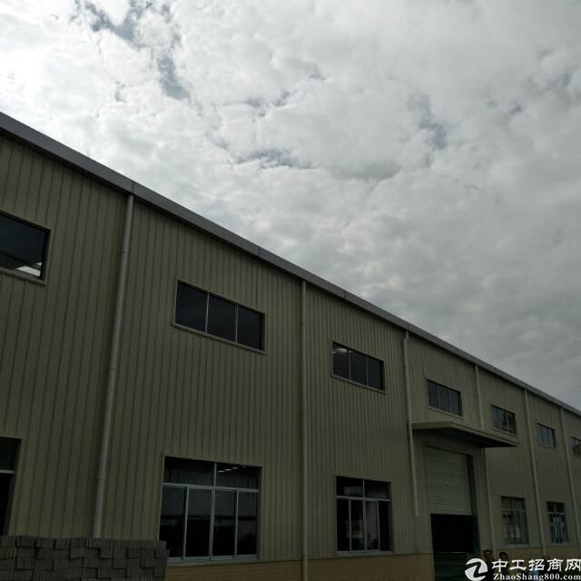企石新出独栋钢构厂房1300平方(有水电装修,高度7米)