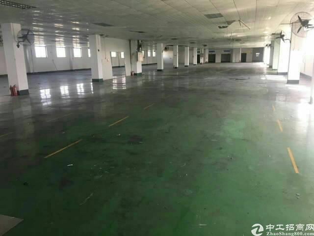 惠阳秋长新出标准楼上2000平厂房火爆招租