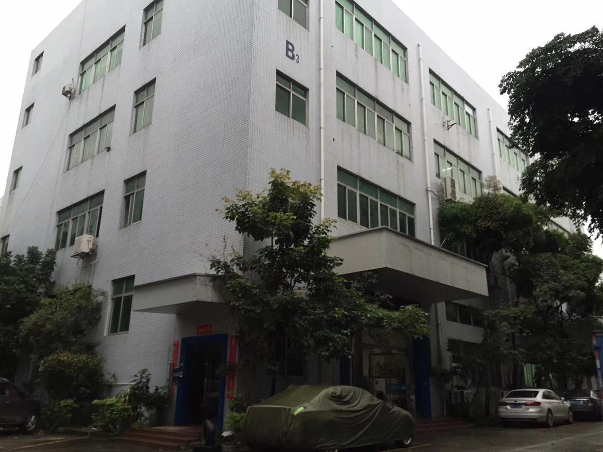 沙井独门独院厂房三楼整层2380平方可以整租分租