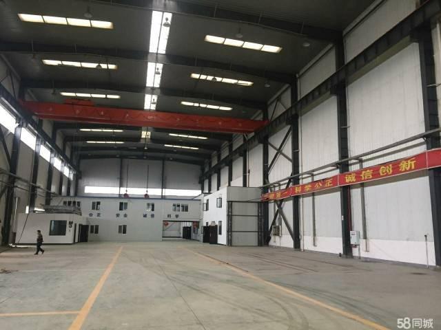 高埗镇独院厂房2000平,滴水10米,现成行车5吨一部