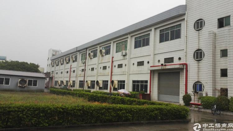 石岩塘头高薪园新出楼上4100平带装修厂房出租