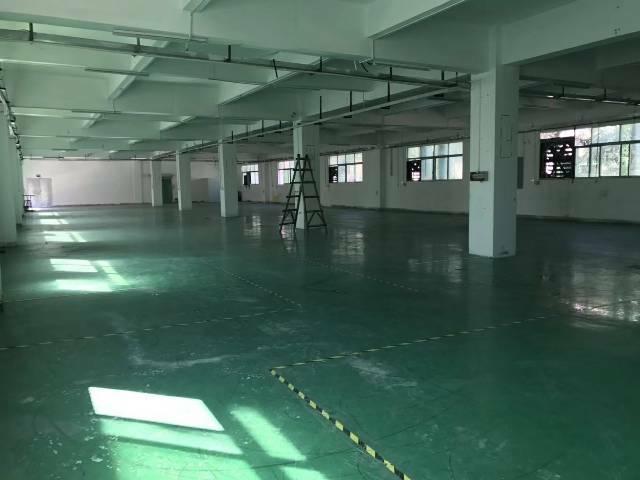 平湖华南城南门楼上带装修980平方厂房出租