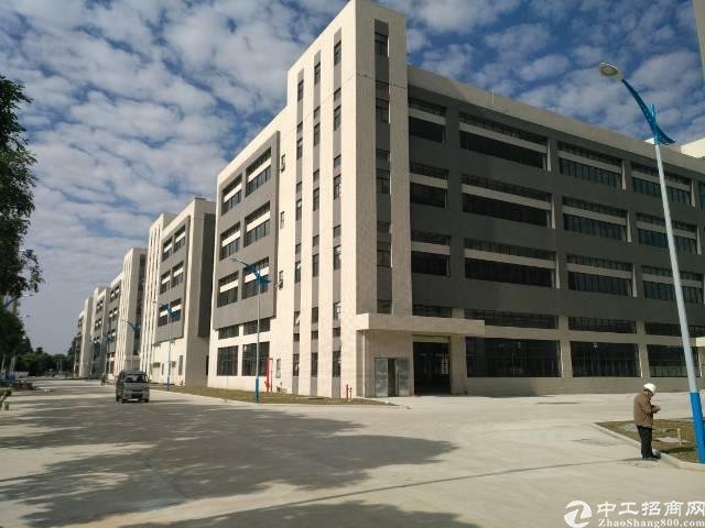 高埗镇工业区分租全新标准厂房2-3-4层每层1875平