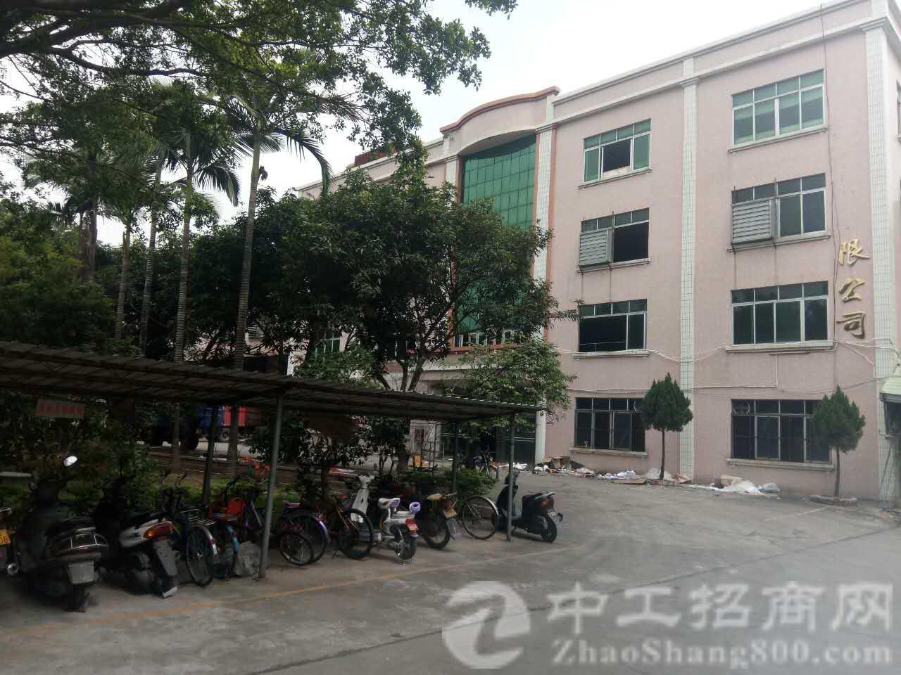 广州市增城全新独栋标准厂房分租2-3-4楼 每层1875平