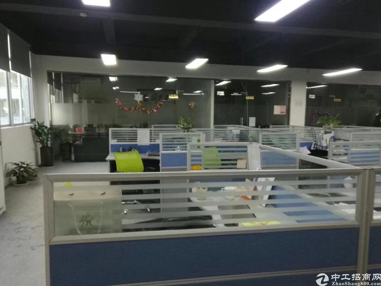 龙华地铁口边楼上带装修800平厂房招租-图5