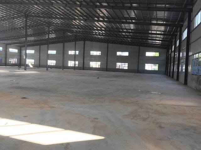 黄江镇靠近深圳公明新出钢结构厂房1600平方出租