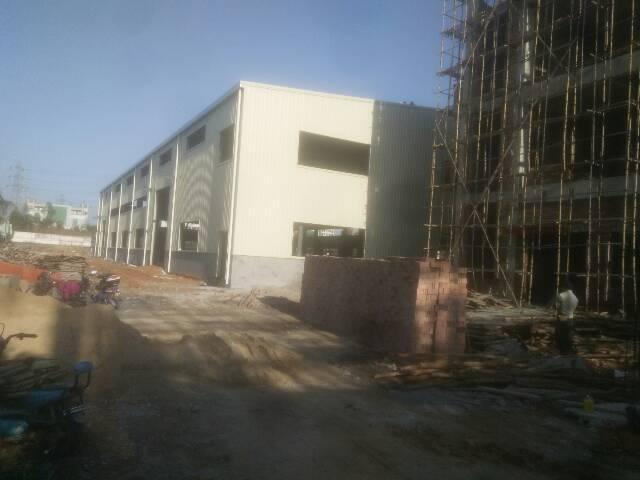 横沥镇新出独门独院钢构厂房出租2000平方