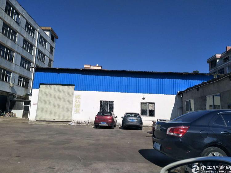 虎门北栅一楼400平方,滴水7.5米厂房出租