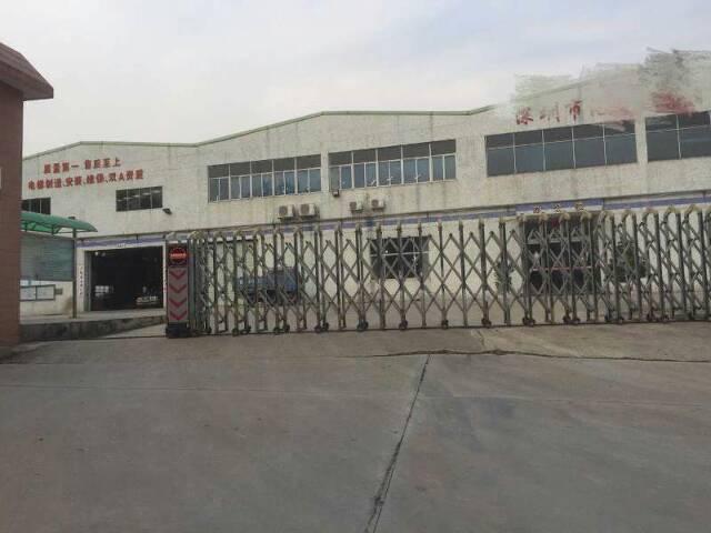 松岗高速路口附近钢构厂房12000平方厂房出租滴水十米高