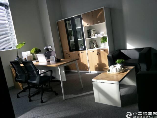 福永地铁站新出带精装修写字楼出租80平米起-图3
