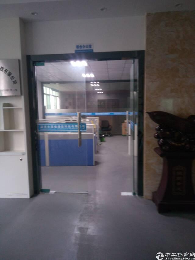 松岗大田洋2楼整层1600平精装修厂房和办公室只租15元