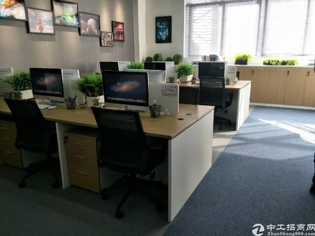 福永地铁站新出带精装修写字楼出租80平米起-图2