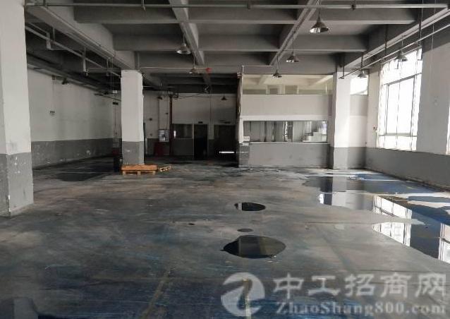 公明镇中心龙大高速出口附近一楼二楼每层1840平方厂房-图3