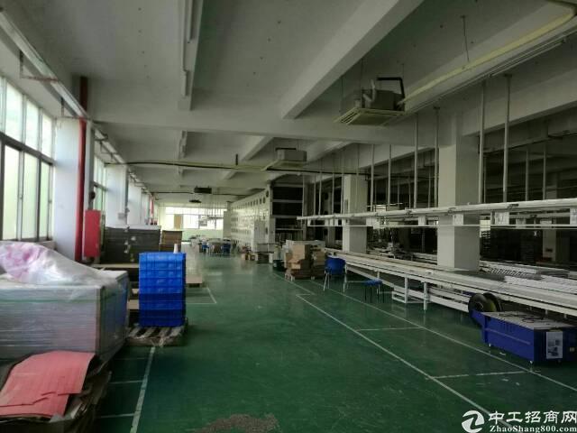 石岩大型园区新出3层4000m²精装修厂房-图7