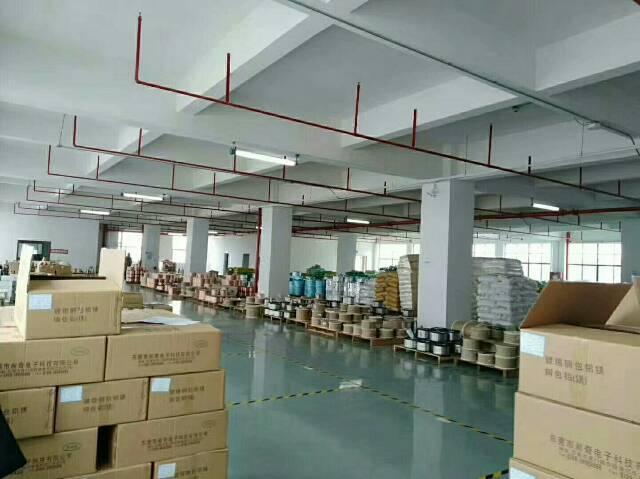 公明大型工业园新出楼上整层带装修厂房出租-图5