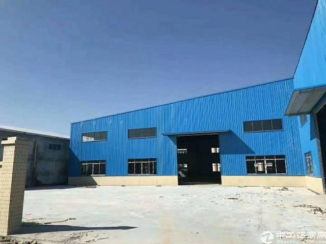 全新钢构厂房空地800平米,主干道边