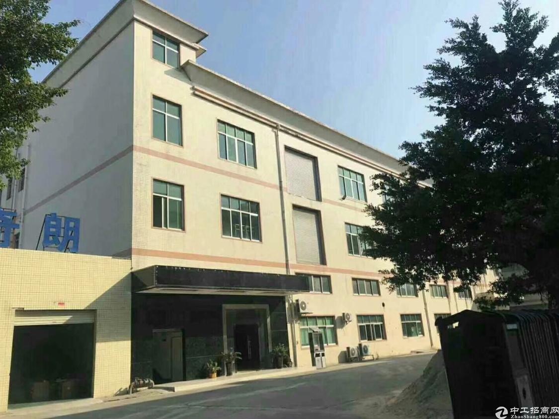 松岗新出一楼六米高1500平带精装修厂房