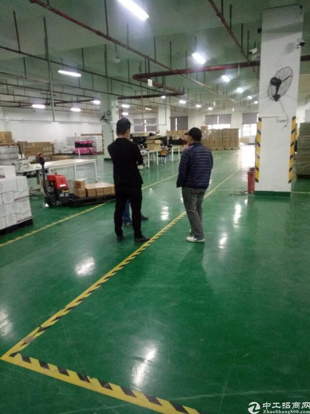 平湖华南城物流园带卸货平台2000平方米仓库招租