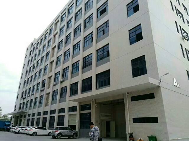 公明大型工业园新出楼上整层带装修厂房出租-图4