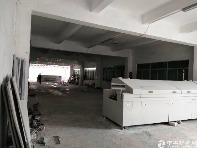 沙井新桥芙蓉工业区靠高速路口新出装修厂房出租800平-图3