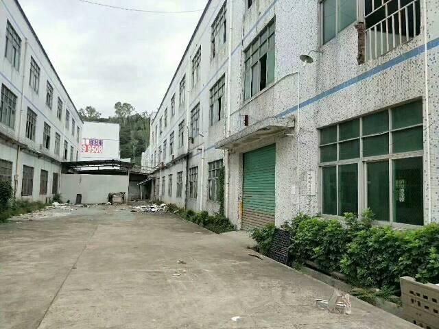 坪山2000平独院标准厂房带装修现成水电地坪漆可分租